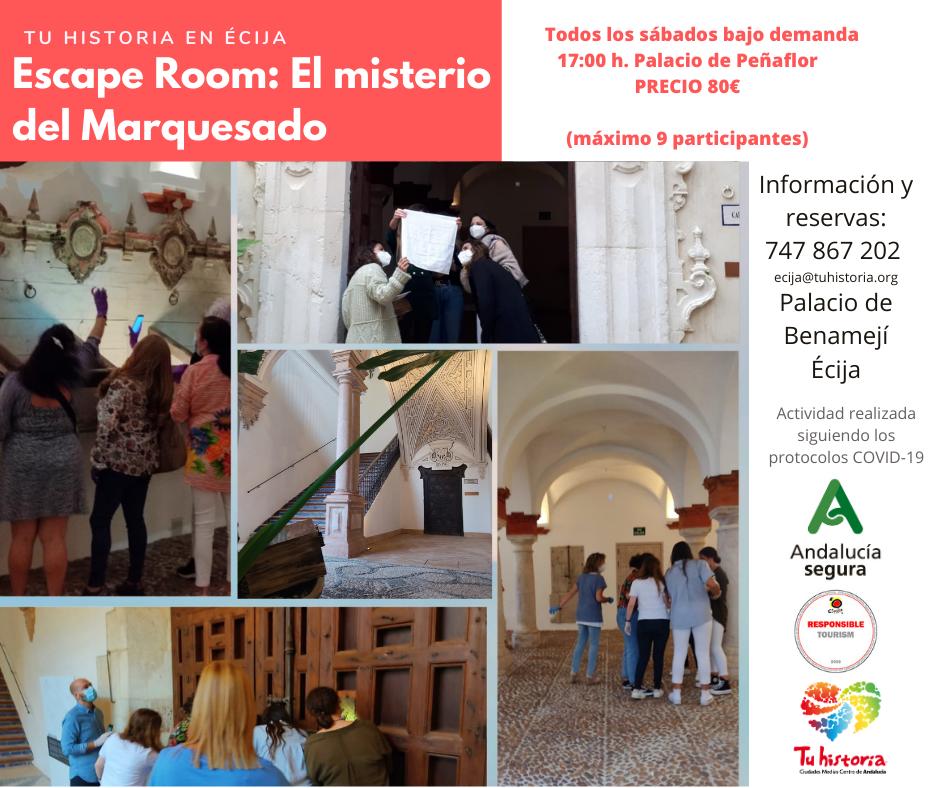 Escape Room El Misterio del Marquesado